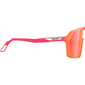 Rudy Project Spinshield Glasses mandarin fade/coral matte/multilaser red